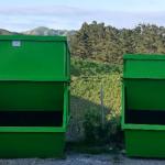 skip bins sizes